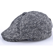 Super high quality newsboy caps for men and women hats gorras planas octagonal cap Leisure and wool blend canned koala flat cap