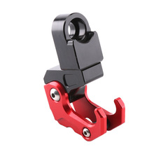 Motorcycle Accessories CNC Aluminum Alloy Folding Hanger Hook For Honda All New Forza 300 2018 brand new motorcycle aluminum alloy inner ring