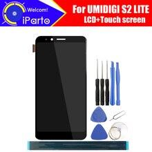 6.0 นิ้ว UMIDIGI S2 LITE จอแสดงผล LCD + หน้าจอสัมผัส Digitizer ASSEMBLY 100% ใหม่ LCD + TOUCH Digitizer สำหรับ s2 LITE + เครื่องมือ