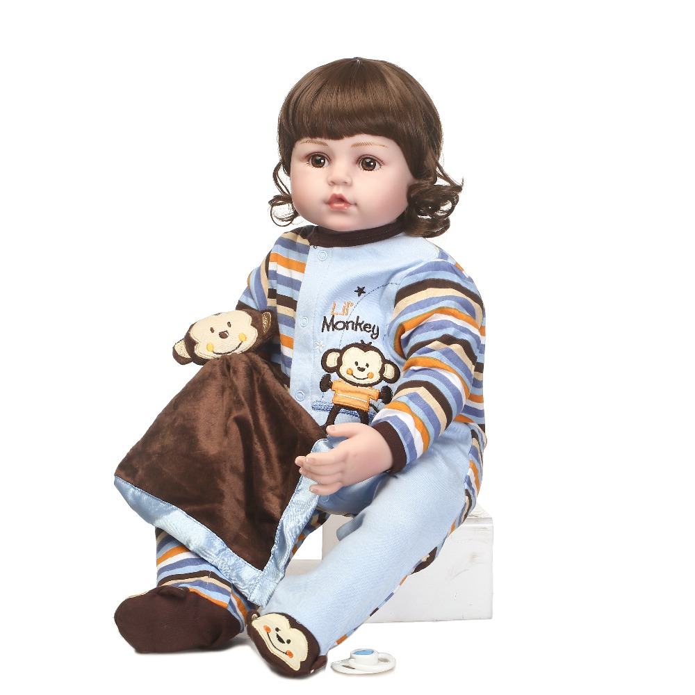 NPKCOLLECTION lifelike reborn baby doll in cute Monkey clothes toys and gift for children on Birthday and Christmas grace akanbi contemporary issues on women and children education in nigeria