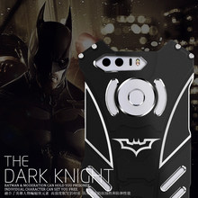 Luxury Batman Aluminum Metal Case For Huawei Honor 8 Slim Hard Heavy Duty Protection Back Cover For Huawei Honor 8 Bumper Case(China)