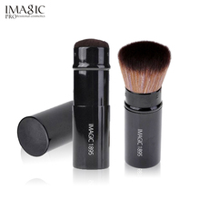 IMAGIC Powder Blush Brush Profession Retractable Makeup Tool Foundation Powder Cosmetic Face Powder Brush 1PCS-in Eye Shadow Applicator from Beauty & Health on AliExpress