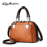 Gykaeo Women Shell Handbag Ladies Casual Shopping Shoulder Bags Handbags Women Famous Brands High Quality Tote