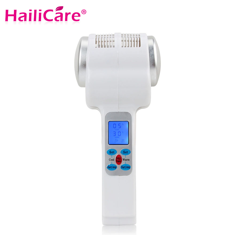 Ultrasonic Cryotherapy Hot Cold Hammer Face Lifting Massager Wrinkle Remove Skin Care Tool Facial Rejuvenation Beauty Machine-in Face Skin Care Tools from Beauty & Health    1