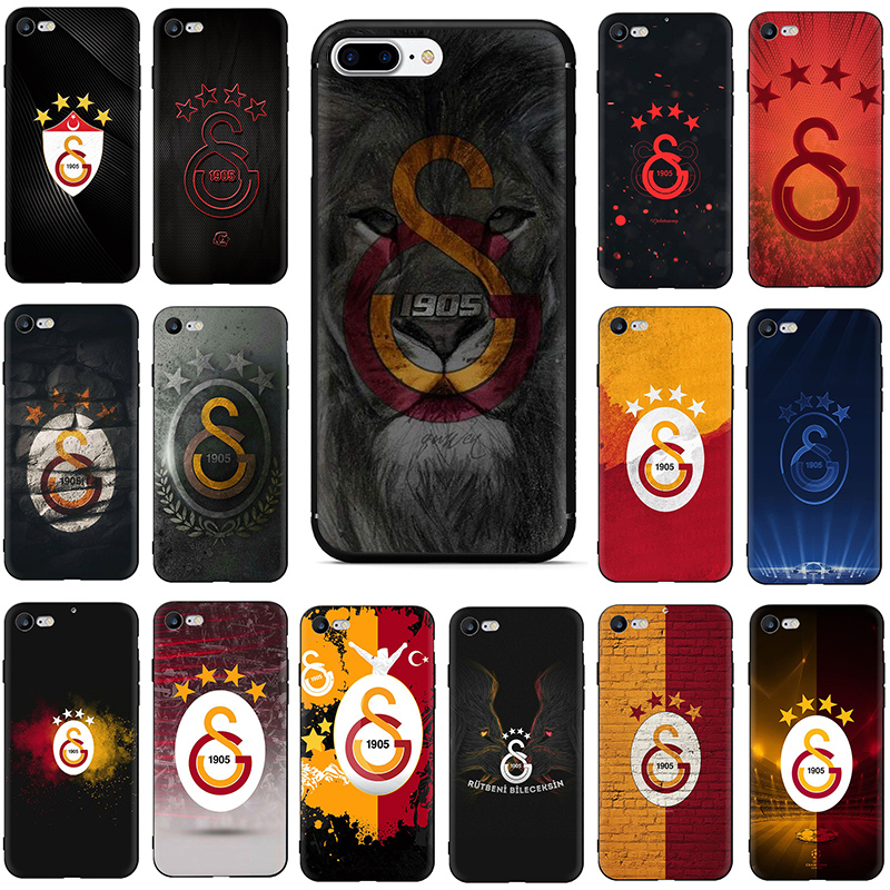 100% Kwaliteit Turkije Galatasaray Soft Tpu Siliconen Telefoon Cover Case Voor Iphone 6 6s 7 8 Plus X Xr Xs Max Hoge Veiligheid