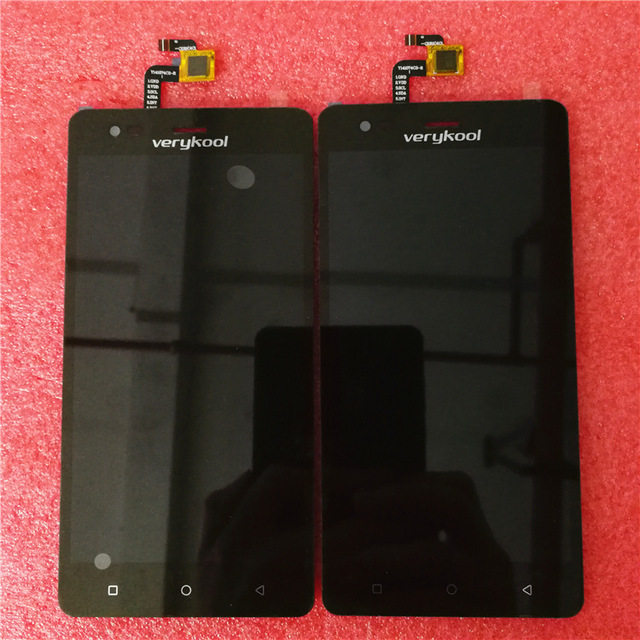 Black For Verykool S5528 Lcd Display Digitizer Touch Screen Glass