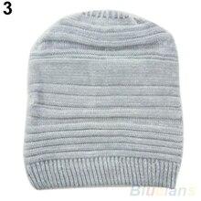 Hot Unisex Womens Mens Knit Baggy Beanie Hat Winter Warm Oversized Cap 2359 7EJO