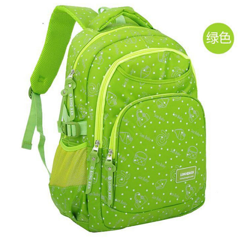Fashion Grade1 6 Orthopedic Breathable Butterfly Primary School Bags font b Kids b font font b