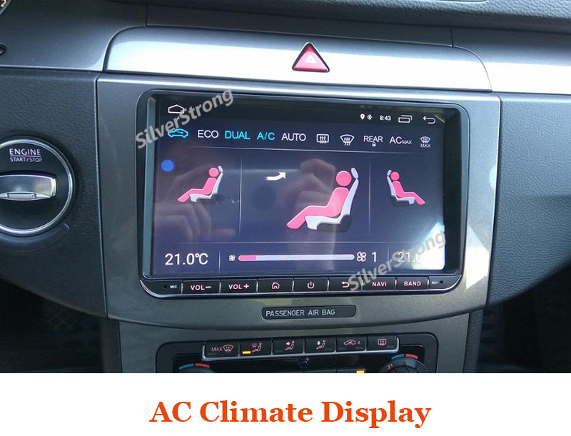 ANDROID8.1 VW ANDROID 9inch car dvd radio gps (3) -