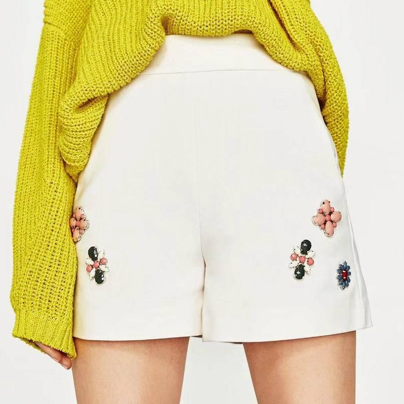 Popular White Flower Shorts-Buy Cheap White Flower Shorts lots ...