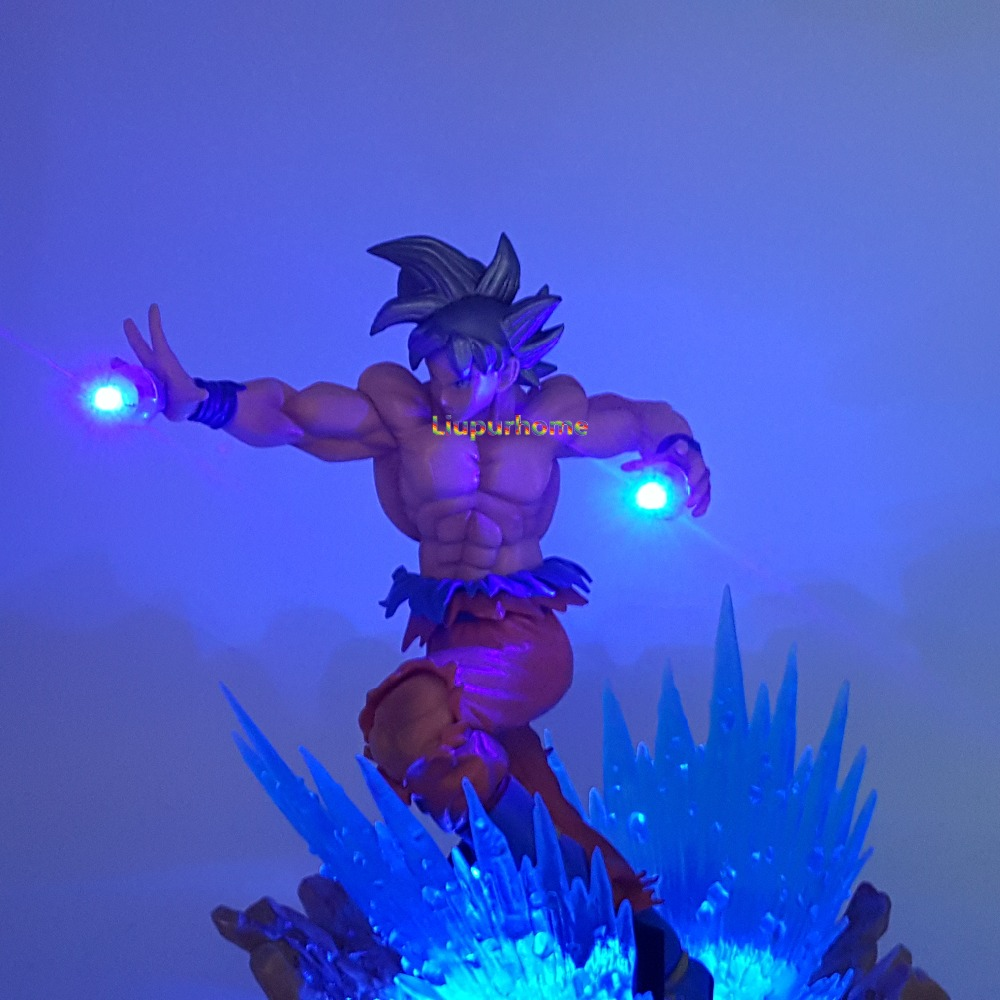 Dragon Lamps For Sale Us 37 6 6 Off Aliexpress Buy Dragon Ball Son Goku Ultra Instinct Led Night Lights Desk Lamp Dragon Ball Z Goku Key Of Egoism Led Lamparas