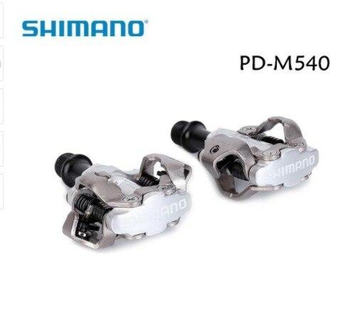 Shimano PD-M540 pédale de vélo de montagne pédale SPD serrure, m540 vtt pédales