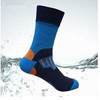 2 Pairs 1 Lots Men Women Skiing Sports Sock Breathable Climbing Camping Hiking Sport Waterproof Socks