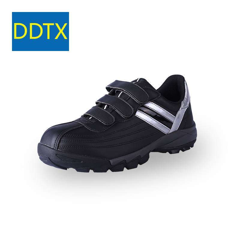 5e784f5c11 US $45.74 39% OFF|DDTX Safety Shoes Steel Toe Work Shoes for Men Comfort  Lightweight Anti Slip Working Sneakers Boots Outdoor Black-in Basic Boots  ...
