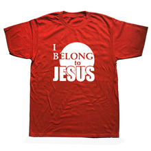 "Christian T- Shirt ""I Belong to Jesus"""