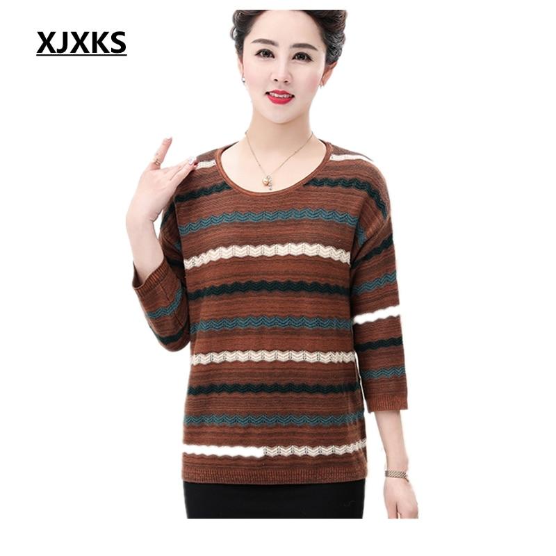 Suéter Suéteres rojo Gran Primavera Modis Punto 2019 Mujeres Tamaño Las Verde De Camisetas Xjxks Jersey Transpirable FnZawREqxO
