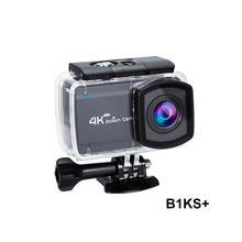 """B1KS+ 2.45"""" Touch HD Screen 4K Sports Camera 30m Waterdiving Remote Control 6axis gyroscope anti-shake 16MP ACTION CAM"""