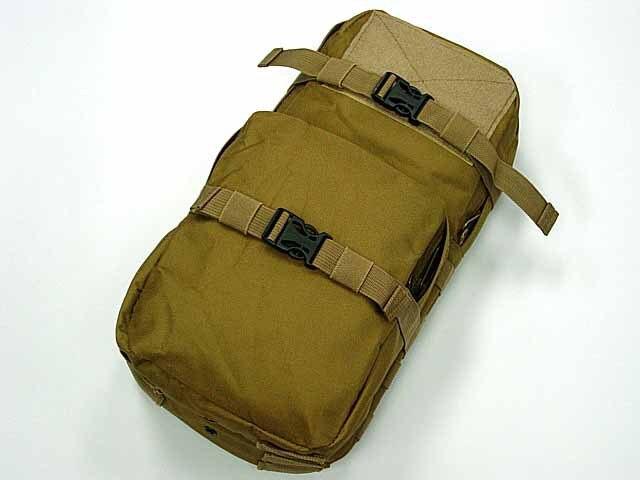 Молл MBSS спорт воды сумка 3L гидратации Вода обновления Чехол Койот коричневый