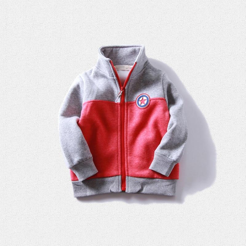 high quality 2017 spring autumn winter little boys girls fleece sport coat children soft jackets clothing kids sweatshirts