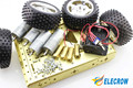 Elecrow Predator 4WD Metallic Mobile Platform Smart Car Kits Robot Platform DIY Kit Free Shipping