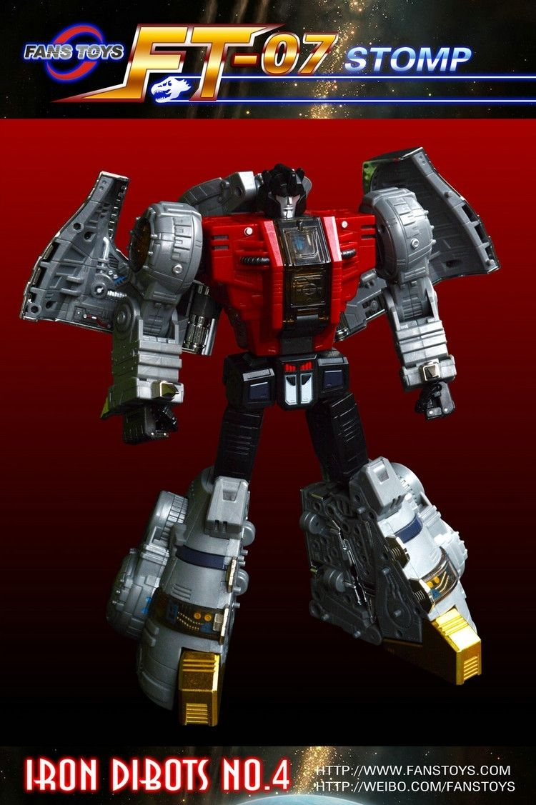Transformation Fanstoys Fans Toys Ft07 Ft 07 stomp Sludge Brand New MISE In Stock