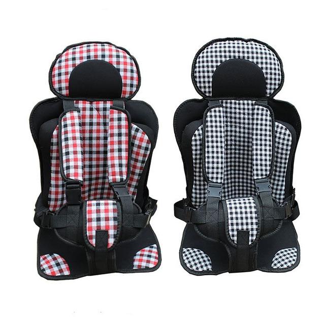 Venda quente Portátil Assento de Carro Do Bebê no Carro, Carro da Criança Assentos de segurança para Crianças, Infantil Bebê Cadeira Assento Almofada Pará Carro