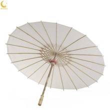 Ochine Chinese Style Blank Oil Paper Umbrella For Kids Diy Project Home Decor Accessories Art Painted Decorative(China)