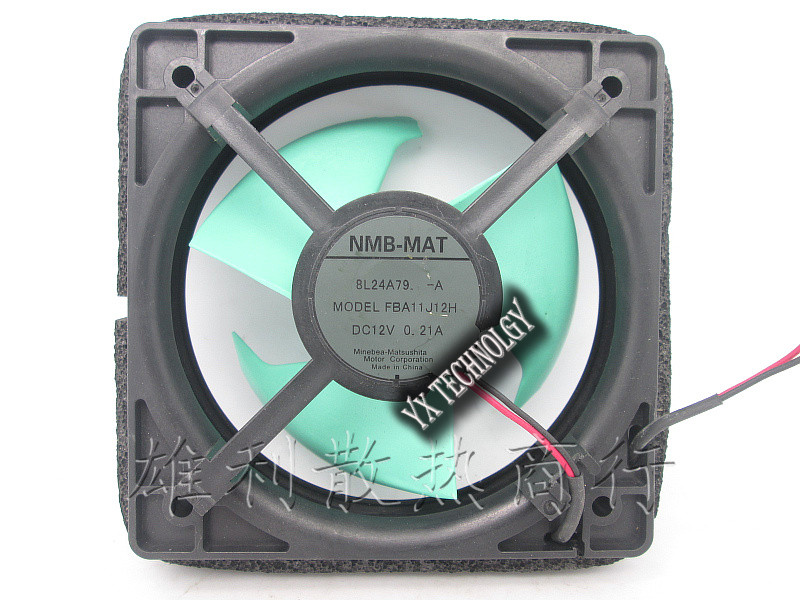 Original 2-wire FBA11J12H-A 12V 0.21A BL24A79-A refrigerator fan new original bp31 00052a b6025l12d1 three wire projector fan