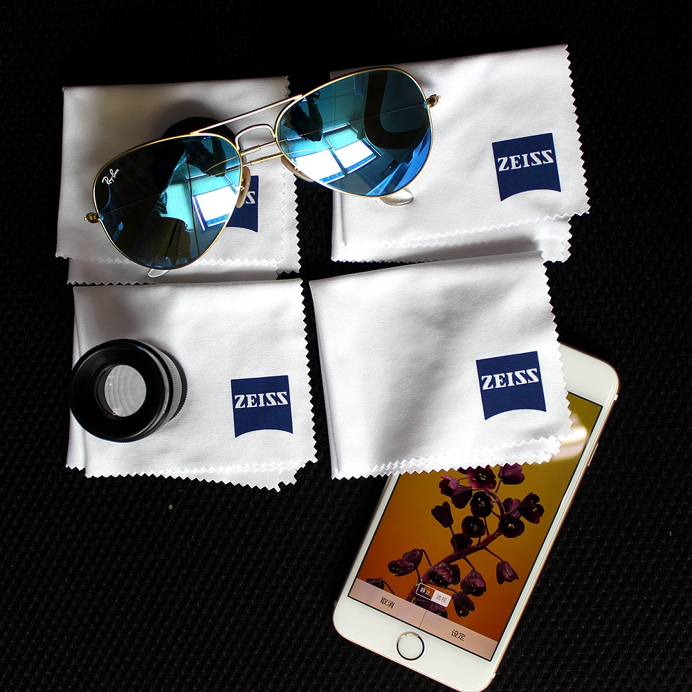 Professional Microfiber Lens Clothes Zeiss Lens Cleaning Eyeglass Lenses Sunglasses Camera Lenses Cell Phone Laptop Pack Of 4