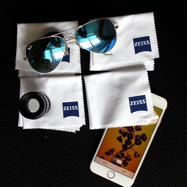 US $2 93 40% OFF|Professional Microfiber Lens Clothes Zeiss Lens Cleaning  Eyeglass Lenses Sunglasses Camera Lenses Cell Phone Laptop pack of 4-in