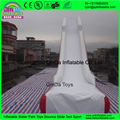 Giant Inflatable Water Slide For Yacht , Yacht Inflatable Water Slide Sea Boat Slide