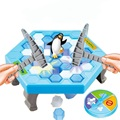 Ice Breaking Hammer Penguin Toys Great Family Fun Game Toys Cute Save Animal Toys for Kids