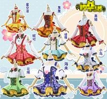 Anime Love Live! Cosplay Costumes Flower Bouquet Arousa Kousaka Honoka Minami Kotori Ayase Eli Cosplay Costume