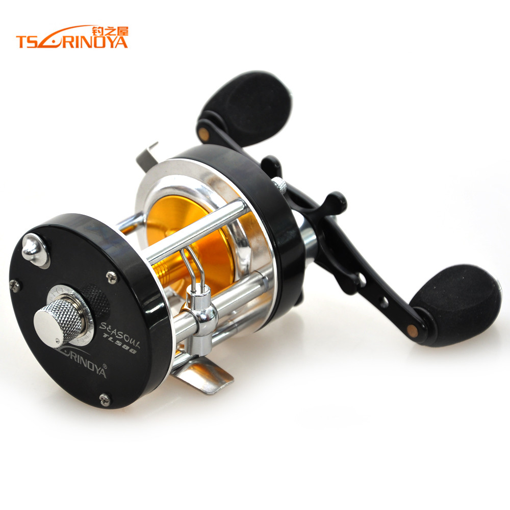 ФОТО R/L Hand Trolling Cast Drum Wheel310g/ 8+1BB/5.2:1 Fishing Reel Molinete Pesca Carretilha Carp Fishing Tackle Boat Round Coil