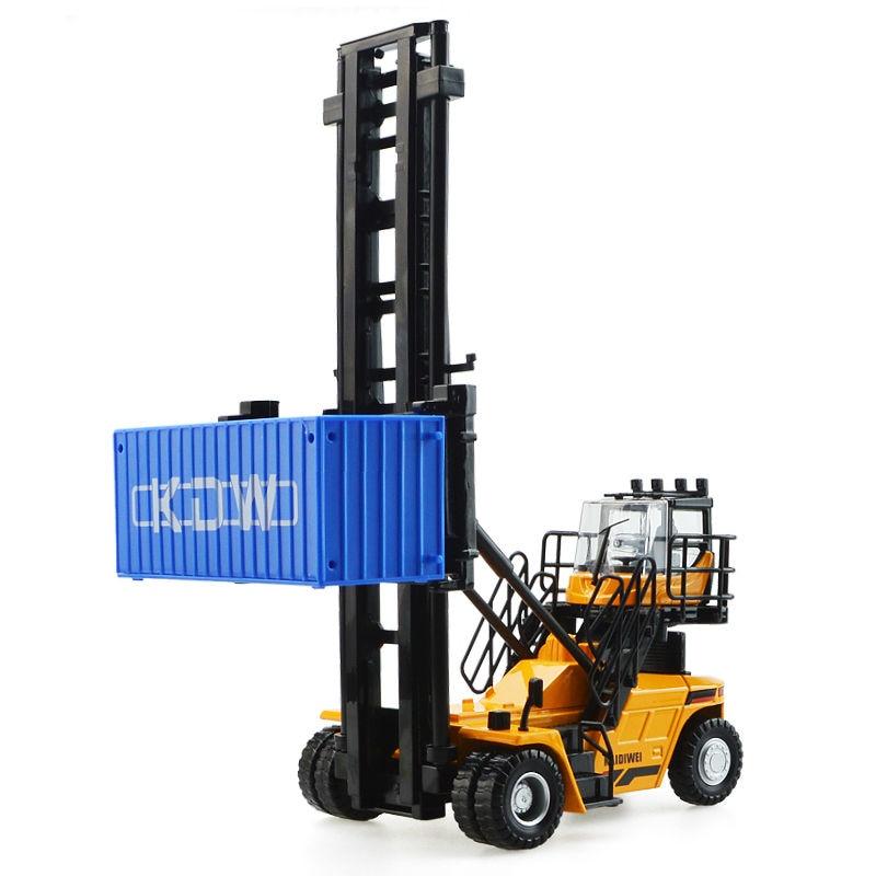 De aleación de vehículo de ingeniería contenedor de machinesimulation juguete de los niños modelo 1:50 Navidad Año nuevo chico regalo - 4