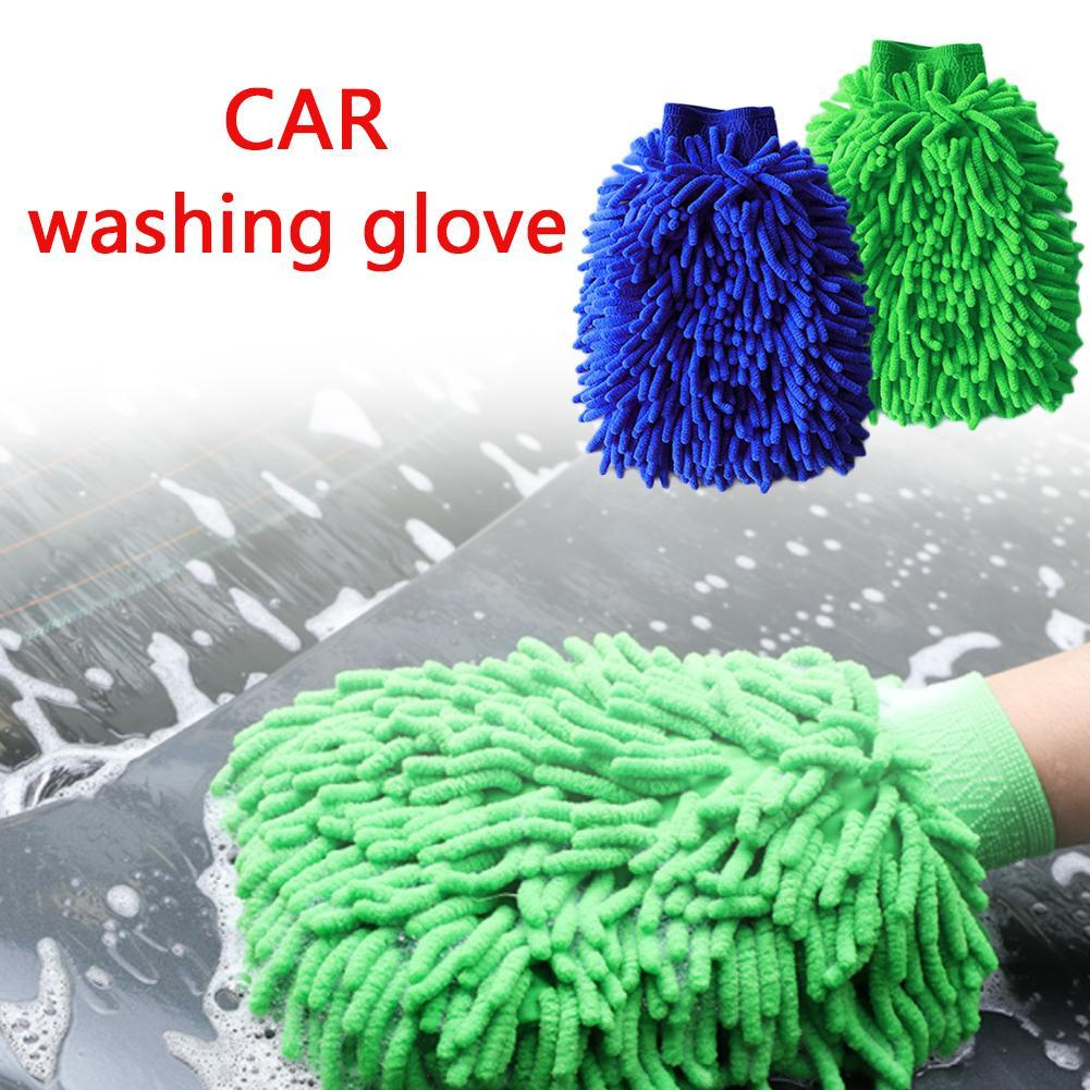 Car Wash  Cleaning  Washing Microfiber Chenille Mitt Auto Glove Dust Washer Window Washing Tool Cleaning Car Wash Glove