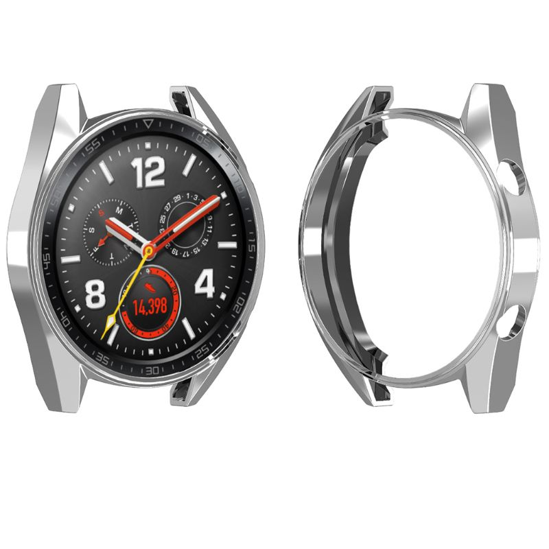 Protective Case Hollow Cover TPU Shell Shockproof Anti-Scratch Sports Accessories for Huawei Watch GT