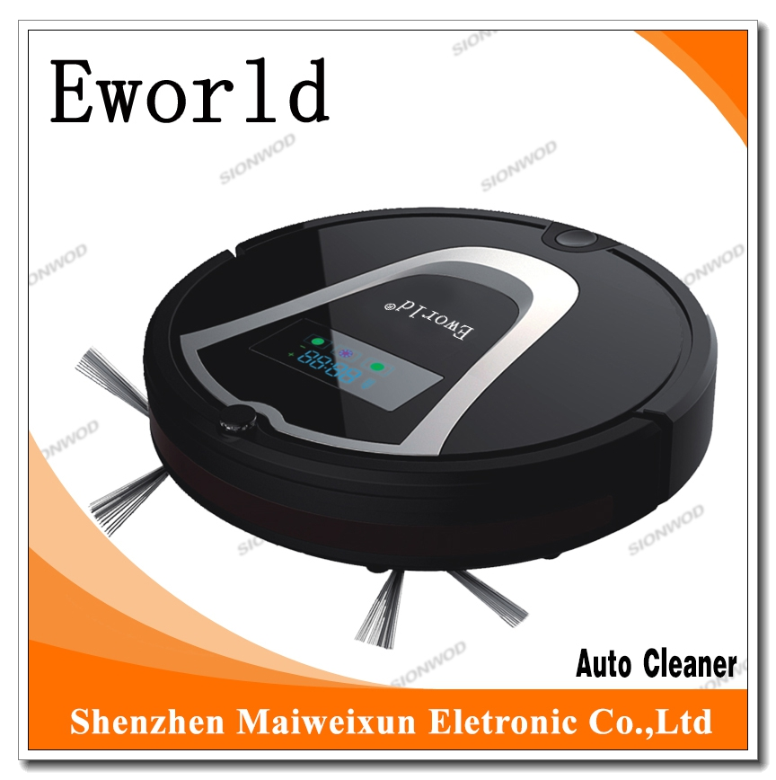 (Free to Russia) Eworld 2016 Hot Sale M884 ABS Material 4 Colors  Vacuum Cleaners with Robot Vacuum Cleaner Mop for Home