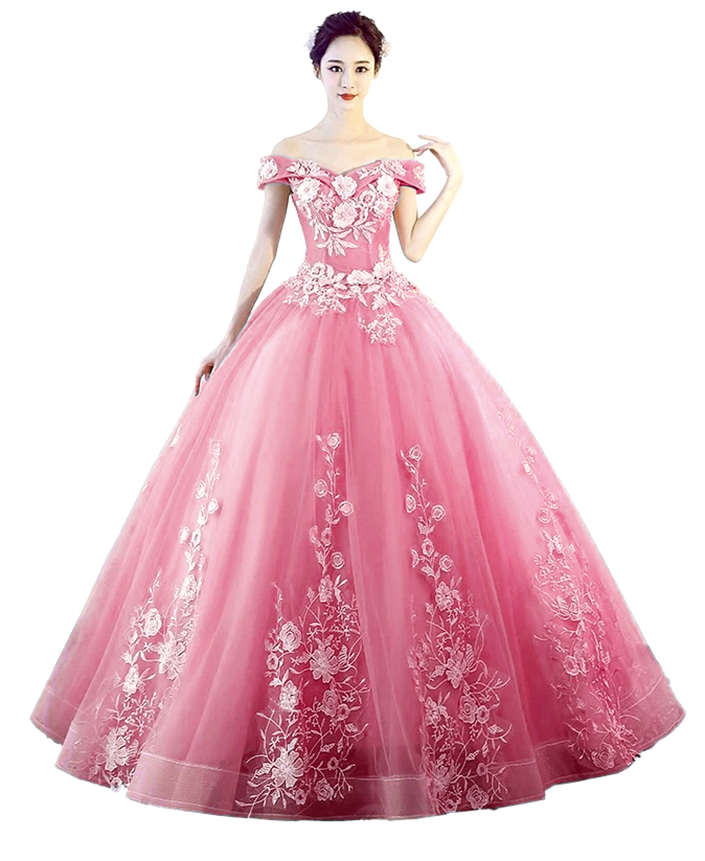 2019 New Cameo Brown Quinceanera Dresses Tulle With Lace Appliques Masquerade Ball Gown Sweet 16 Dress