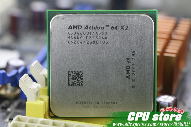 Amd athlon 64 x2 4600 cpu processor 24ghz 1m 1000ghz socket aeproducttsubject publicscrutiny Choice Image
