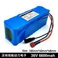 36В 6.6ah (10S3P) батареи  велосипеды  электрические автомобильные батареи  42-вольтовый литиевый аккумулятор + бесплатная доставка