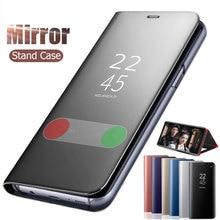 Mirror Flip Case for Xiaomi Redmi K20 Pro Clear View Stand L