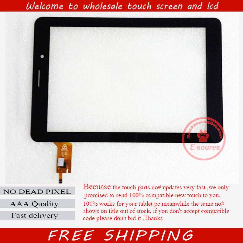New 8'' inch Tablet Capacitive Touch Screen Replacement For F0759 RS-8F373 Digitizer External screen Sensor Free Shipping 10pcs lot free shipping 9 inch quad core tablet epworth w960 xn1352v1 dedicated touch screen capacitive screen external screen
