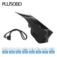 PLUSOBD HD Car DVR For Ferrari 458 F12 Full HD 1080P Vehicle Blackbox DVR Night Vision Car Camera HD Dvr With OBD2 Adapter