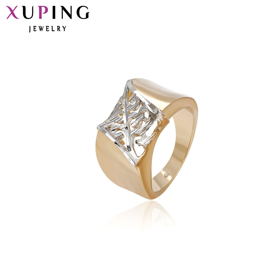 11.11 Deals Xuping Fashion Temperament Ring Sweet European Style Top Quality Brand Jewelry Christmas Family Gift for Men 12288
