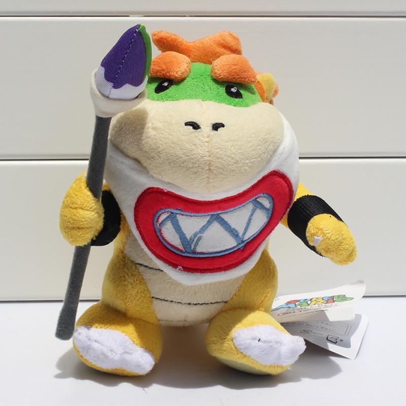 new super mario bowser koopa jr relleno mueca mueco de peluche beb de juguete cm