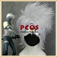 Naruto Kakashi Hatake White Wig Cosplay head hair wig mp000285
