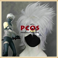 Naruto Kakashi Hatake White Wig Cosplay head hair wig mp000285
