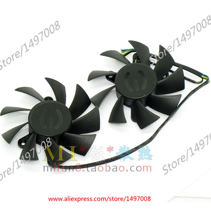 Emacro POWER PLA08015S12HH DC 12V 0.35A     Server Round  fan