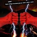 Изоляционные перчатки Высоковольтные электрические защитные анти-электрические перчатки страховка труда ремонт резиновые перчатки износ...